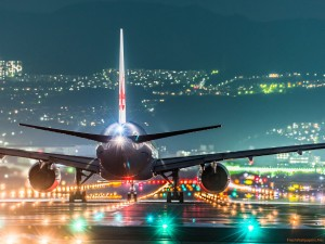 plane-runway-airport-night-lights