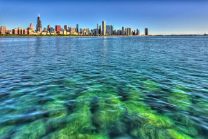 city skyline water clean power plan