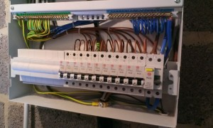 Solar wiring and fuse box connectors